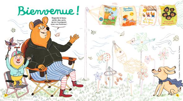 Bienvenue dans Mes premières Belles Histoires, n°252, novembre 2021 - Illustration : Tor Freeman.